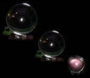 Kristallen bol 100 mm + voetje glas