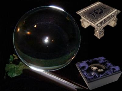 Kristallen bol 150 mm + voetje glas